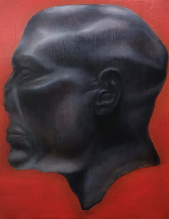 omiscient red sculpture egyptian